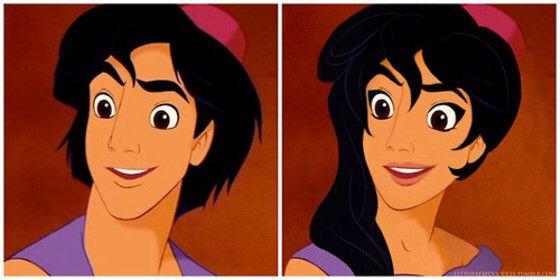 Aladina Personajes Disney Principes De Disney Disney