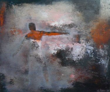 "Saatchi Online Artist Howard Ross; Painting, ""Human Delusion #3"" #art"
