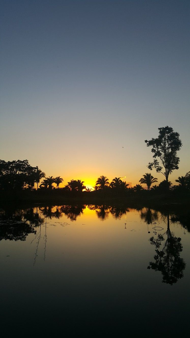 Por Do Sol Fazenda Pedra Grande Maranhao Brasil Com Imagens