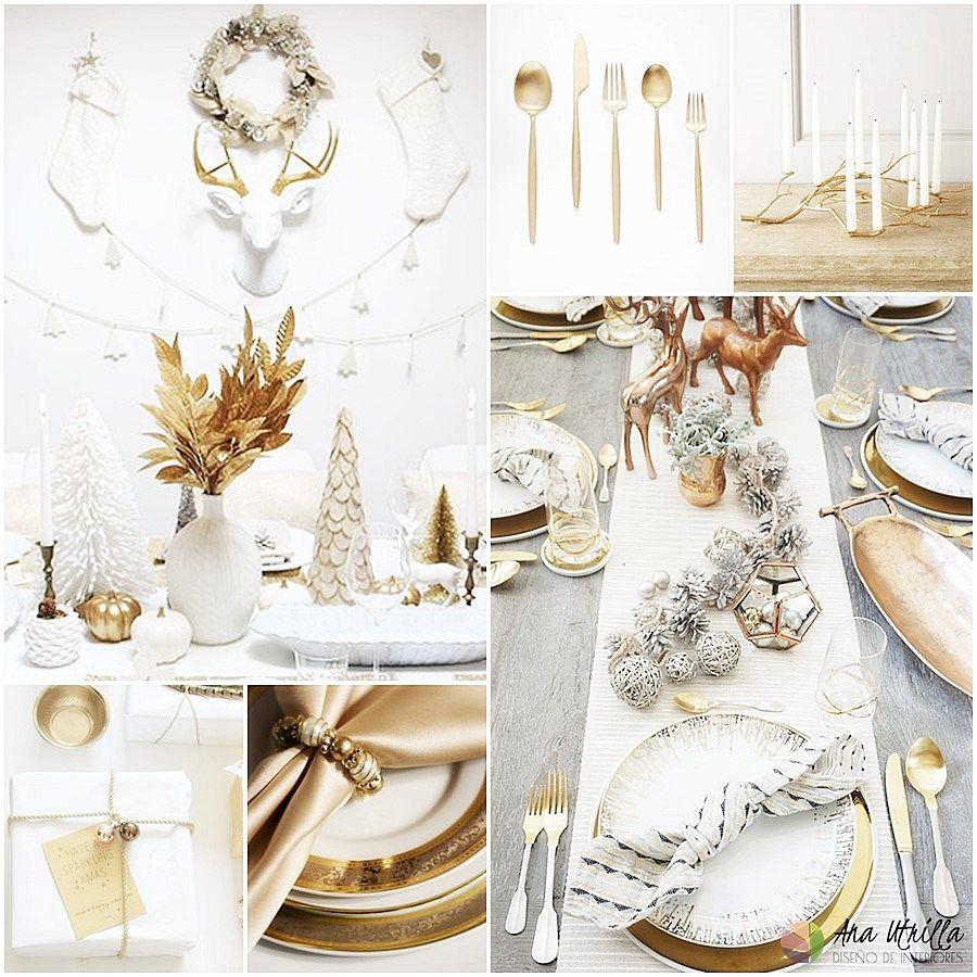 Golden christmas tendencias navidad 2017 decoraci n for Navidad 2017 tendencias decoracion