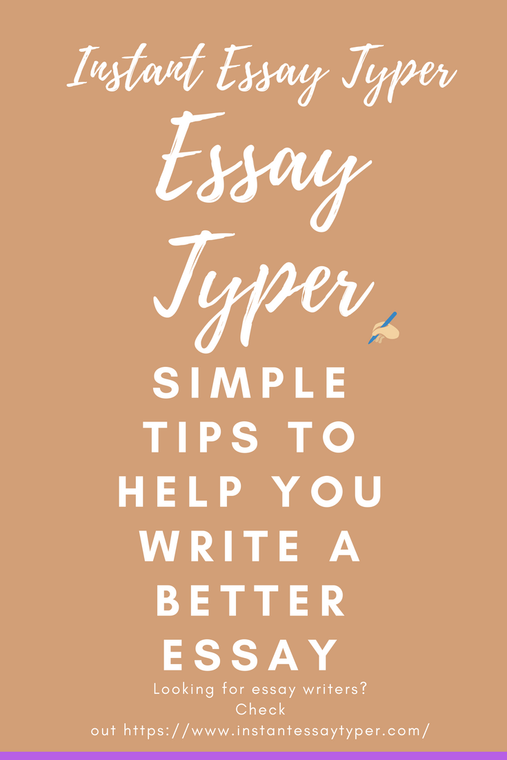 Instant Essay Typer Tip For Writing Perfect 2017 Quote 2016 Happines Project Prom