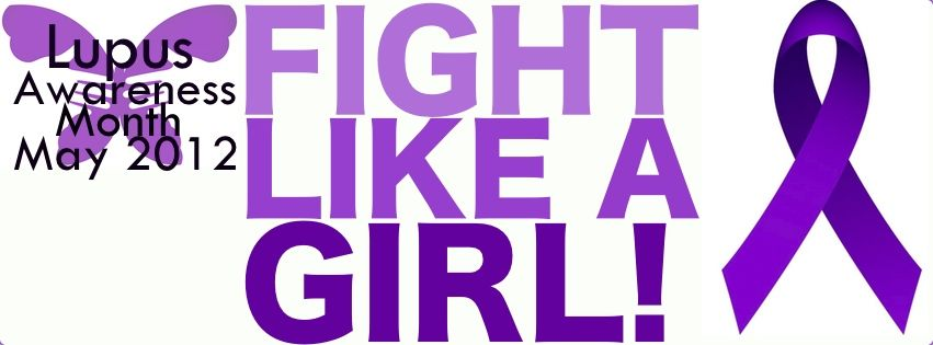 A #lupus awareness Facebook cover photo by electricgrapes on Tumblr