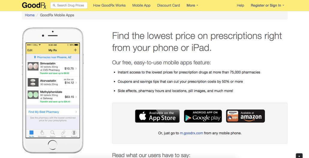 Travel App Of The Week Goodrx Travel App App Discount Card