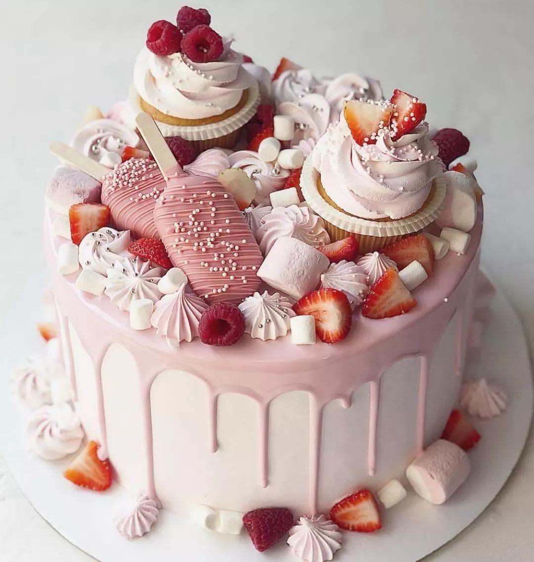 Especially beautiful cream cake -   13 cream cake design ideas