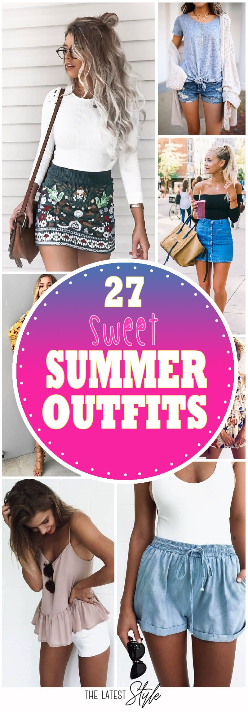 27 Sweet Summer Outfits