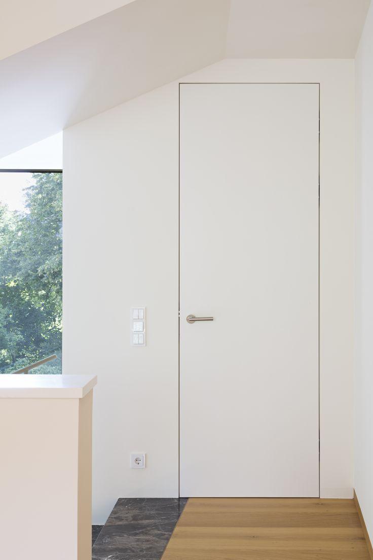 Wandbundige Ture Mit Unsichtbarem Stock Schlafzimmer Schiebeturen Turen Innen Innenturen