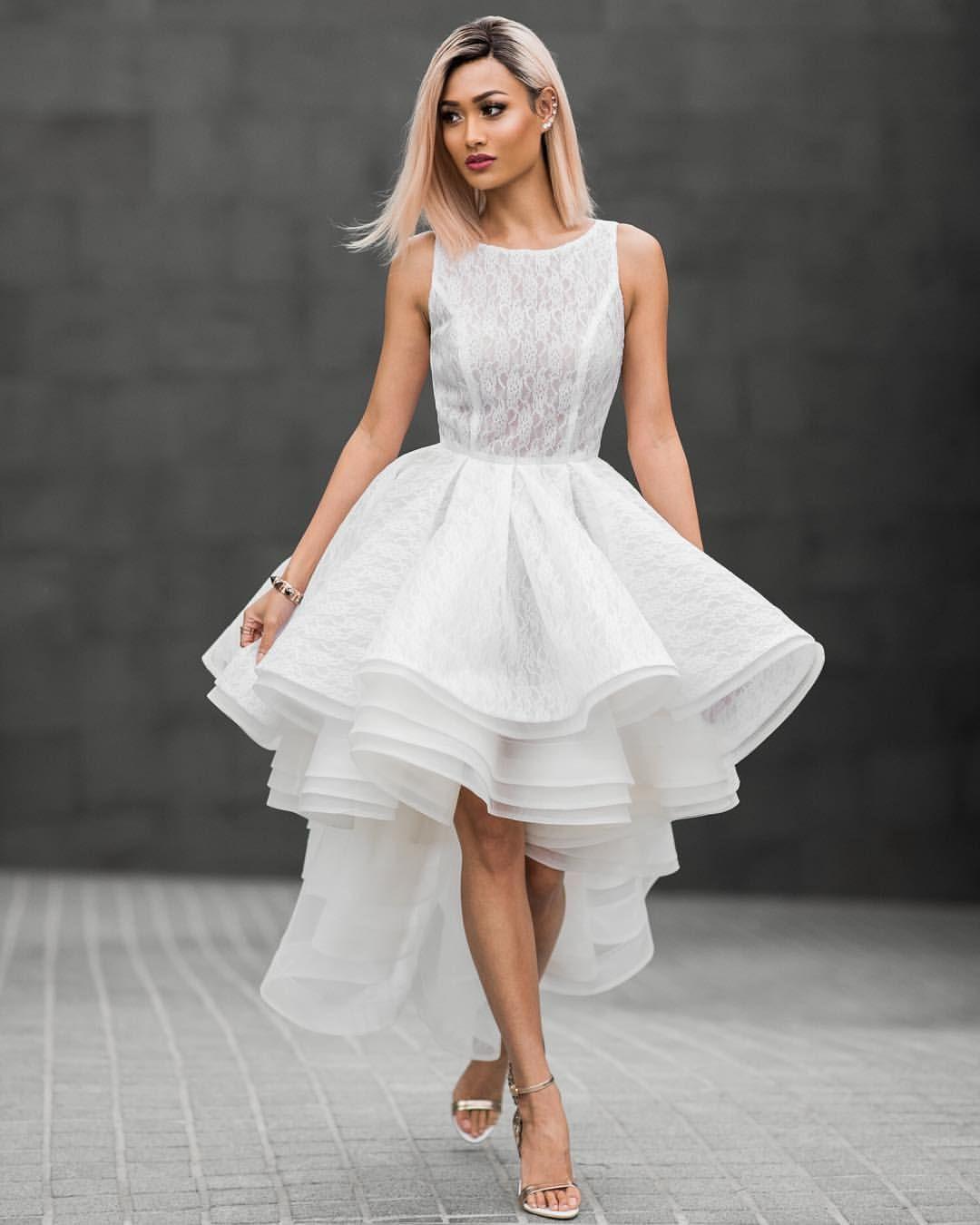 Leah dress a beautiful cocktail length dress designed by leah da