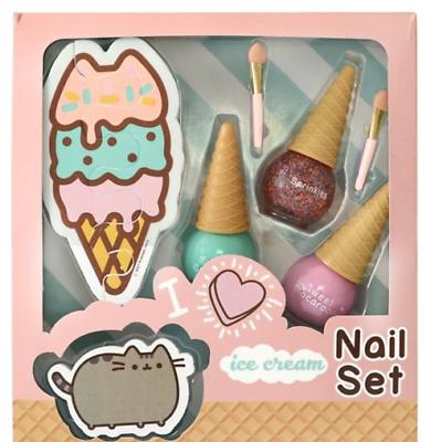 Pusheen Ice Cream Nail Set Limited Edition UK Gift Set