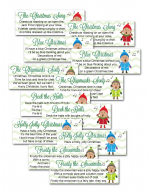 Christmas Gift Exchange Poem.White Elephant Gift Exchange Poem Game Christmas Gift
