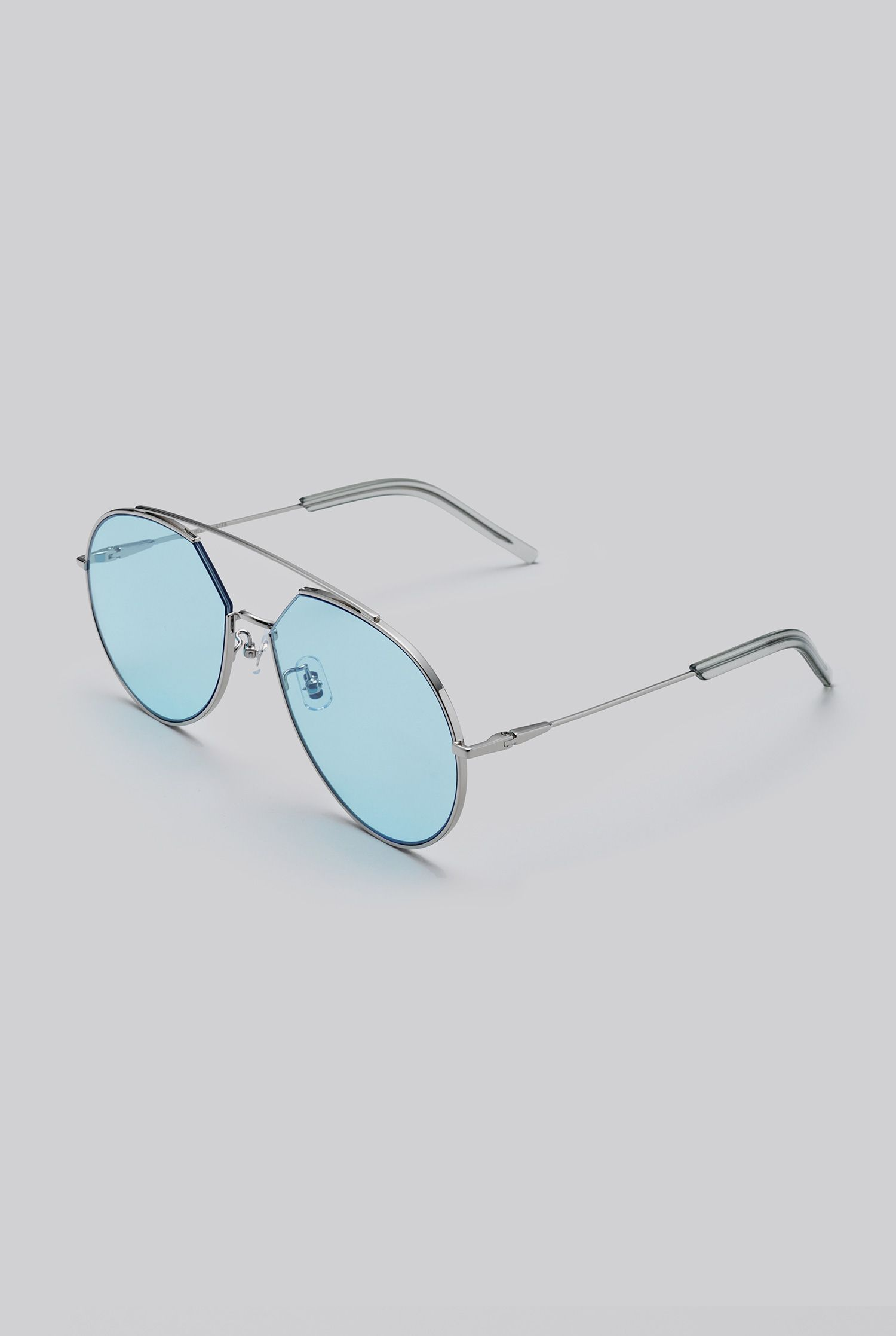 297b700a56 GENTLE MONSTER 2018 Sunglasses Z-1 02(B) Stainless steel front and Stainless
