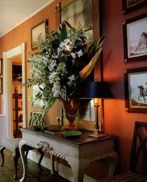 Beautiful Home Part 1: Beautiful Large White Flower Arrangement To Welcome Guests