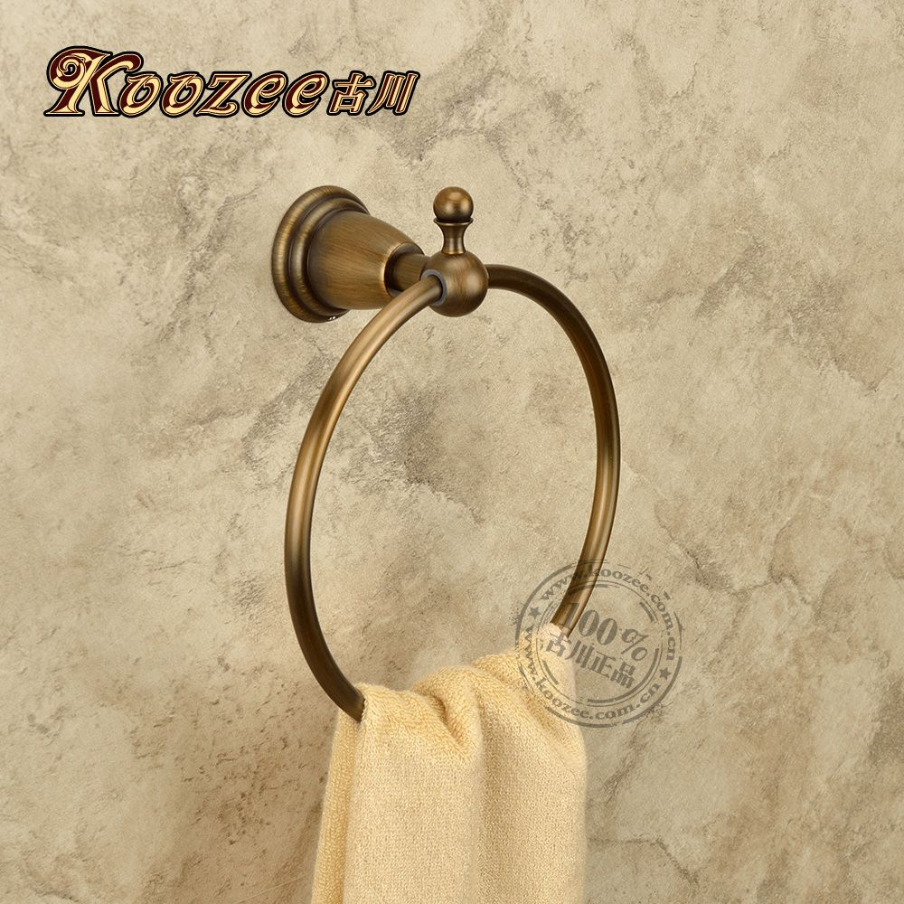 Towel Ring Antique Brass Antique Towel Ring Classical Bathroom