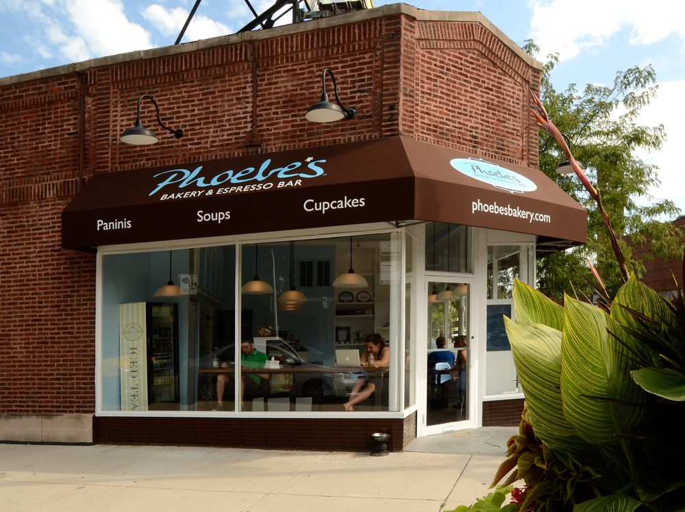 Lights and awning for signage panaderia pinterest for Exterior design of a retail store