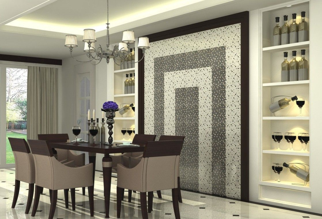 wall decor: luxury entertainment furniture sets white ceiling