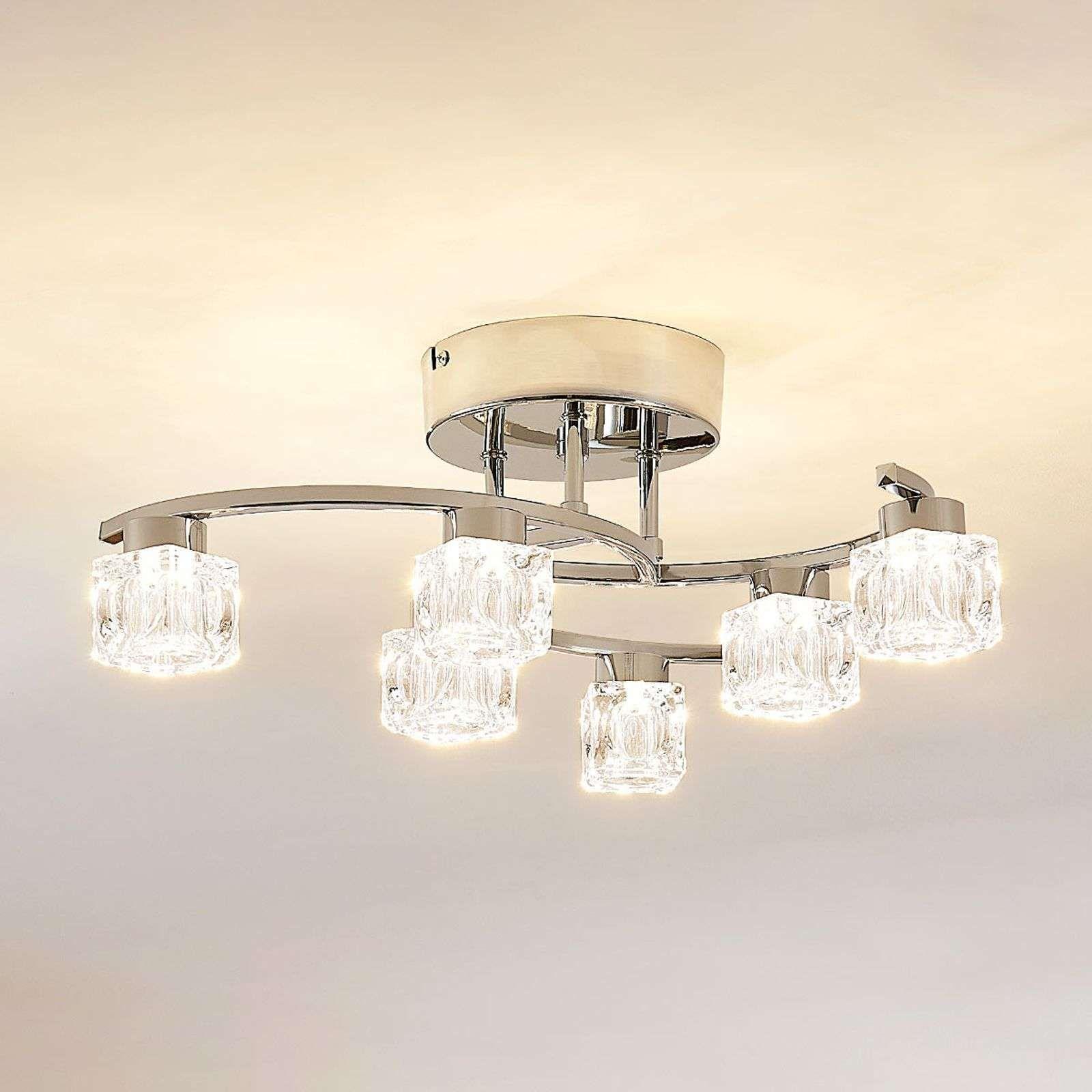 lamparas de techo dormitorio bombilla led