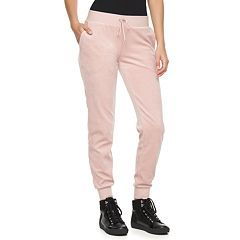 Women s Juicy Couture Solid Velour Jogger Pants  7b326b35e