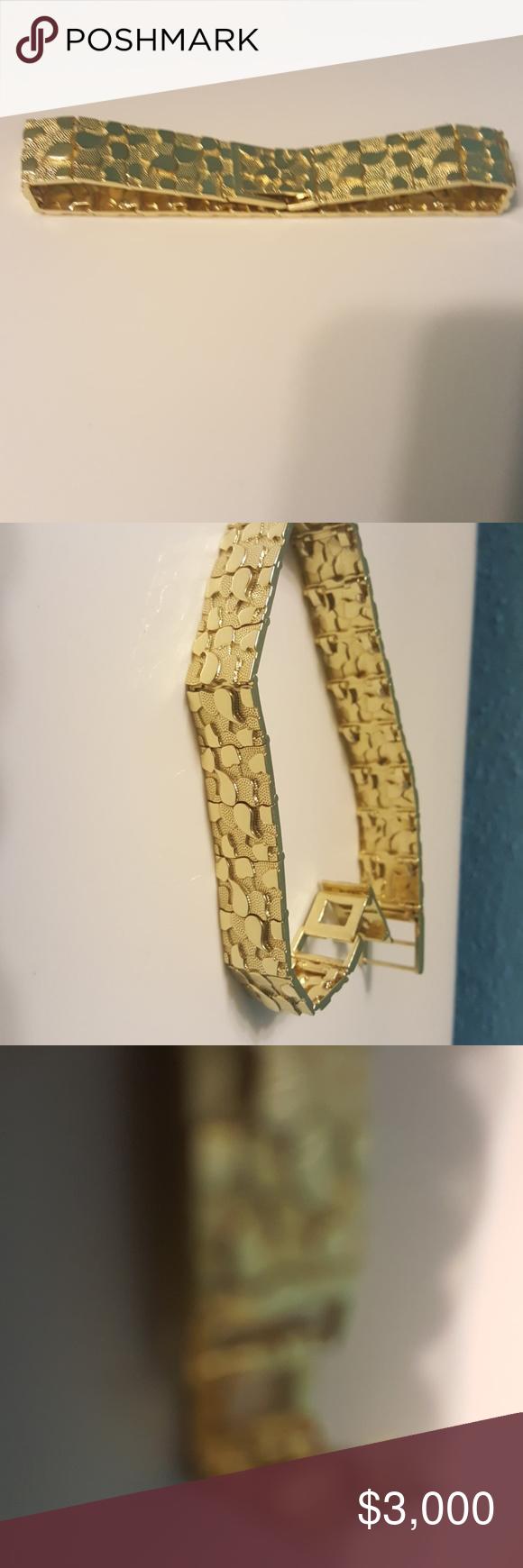 10 Karat Gold Nugget Bracelet Nugget Bracelet Gold Nugget Gold