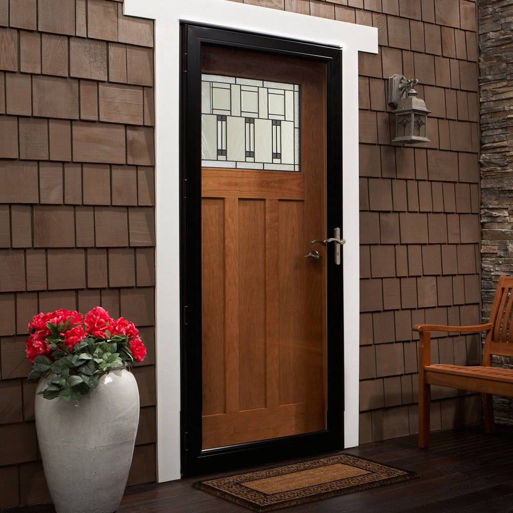 Full View Storm Door Andersen Emco 3000 Series Full View Storm Door Andersen Storm Doors Glass Storm Doors