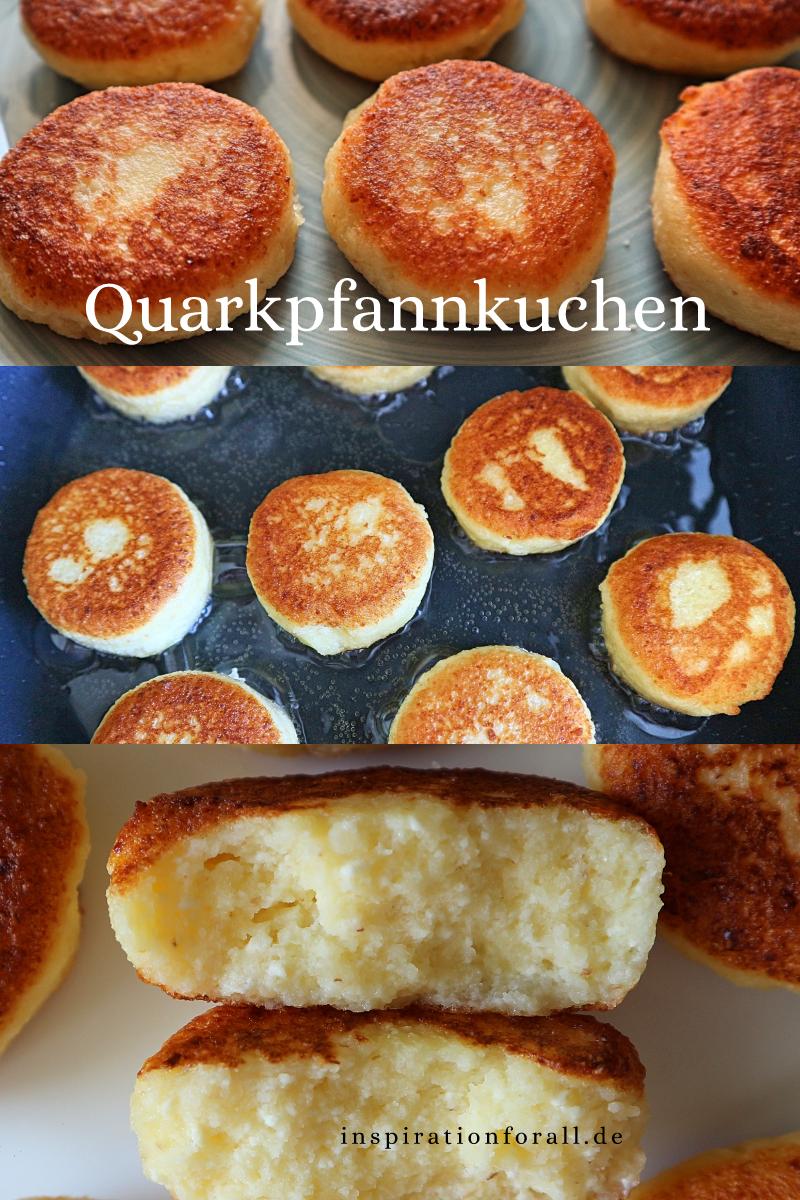 Diese leckeren Syrniki kannst du schnell in der Pfanne zubereiten. Das Rezept ist einfach und ohne Weizen Mehl. Die russischen Quarkpfannkuchen sind perfekt zum Frühstück oder Nachtisch, auch für Kinder. #Syrniki #SyrnikiRussisch #SyrnikiRezept #Quarkpfannkuchen #QuarkpfannkuchenOhneMehl #schnellerezeptemittagessen
