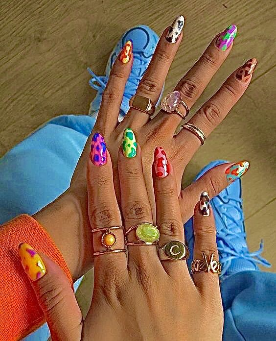 Pin By Sofi Miro On Jewelry In 2020 Nails For Kids Girls Nails Pretty Acrylic Nails