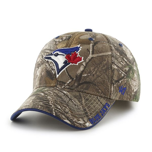 239324ae59b4b2 ... Detroit Game Gear. Toronto Blue Jays Realtree Frost Realtree 47 Brand  Adjustable Hat