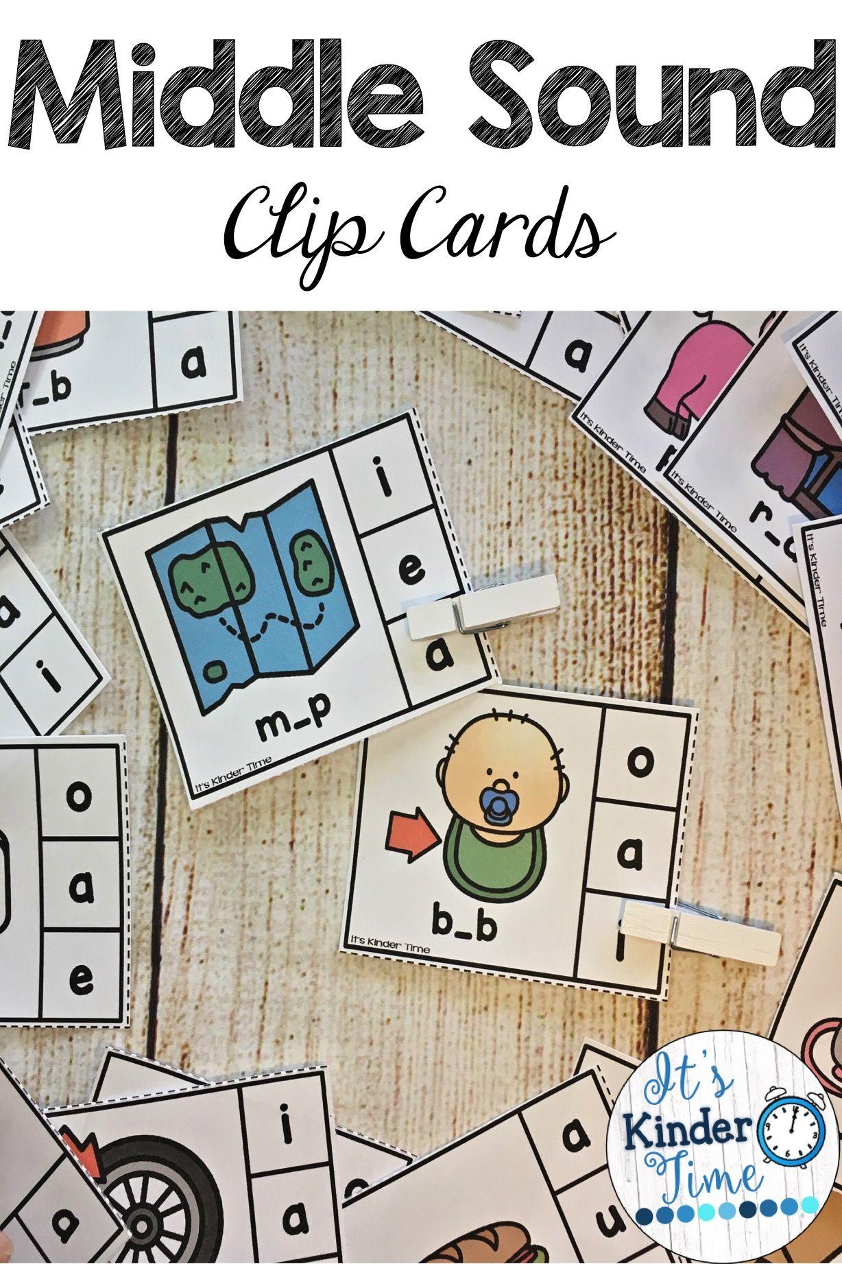 Cvc Middle Sound Clip Card