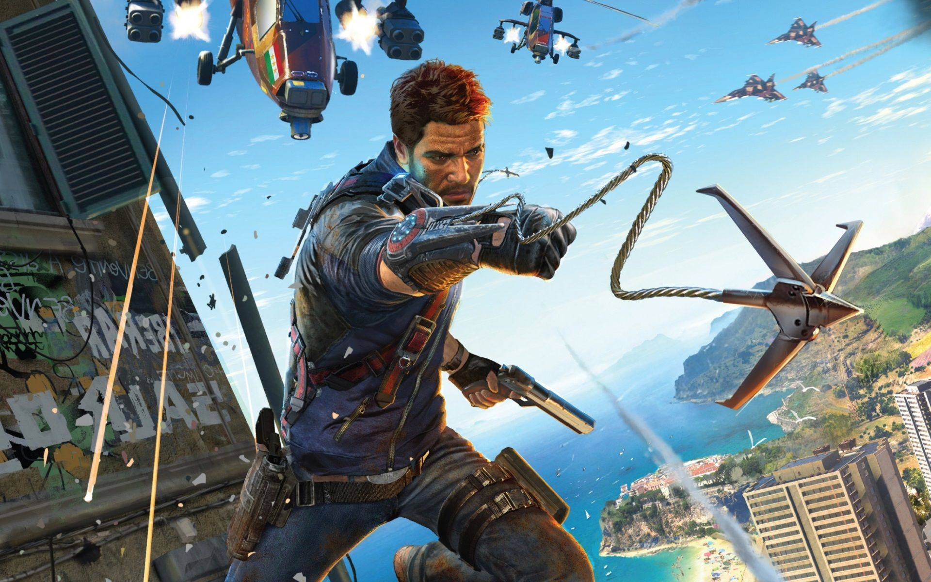 1920x1200 Just Cause 3 Full Hd Just Cause 3 Photography Games Games