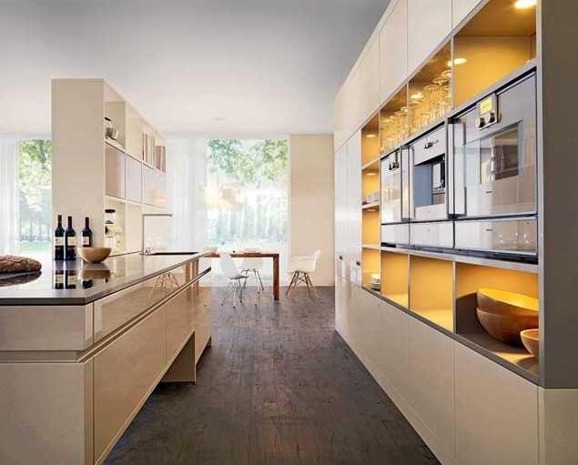 Contemporary Kitchen Design Trends 2014 Unite New Materials, Natural ...