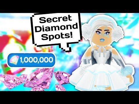 ➜ MY TOP SECRET DIAMOND SPOTS IN ROYALE HIGH SCHOOL