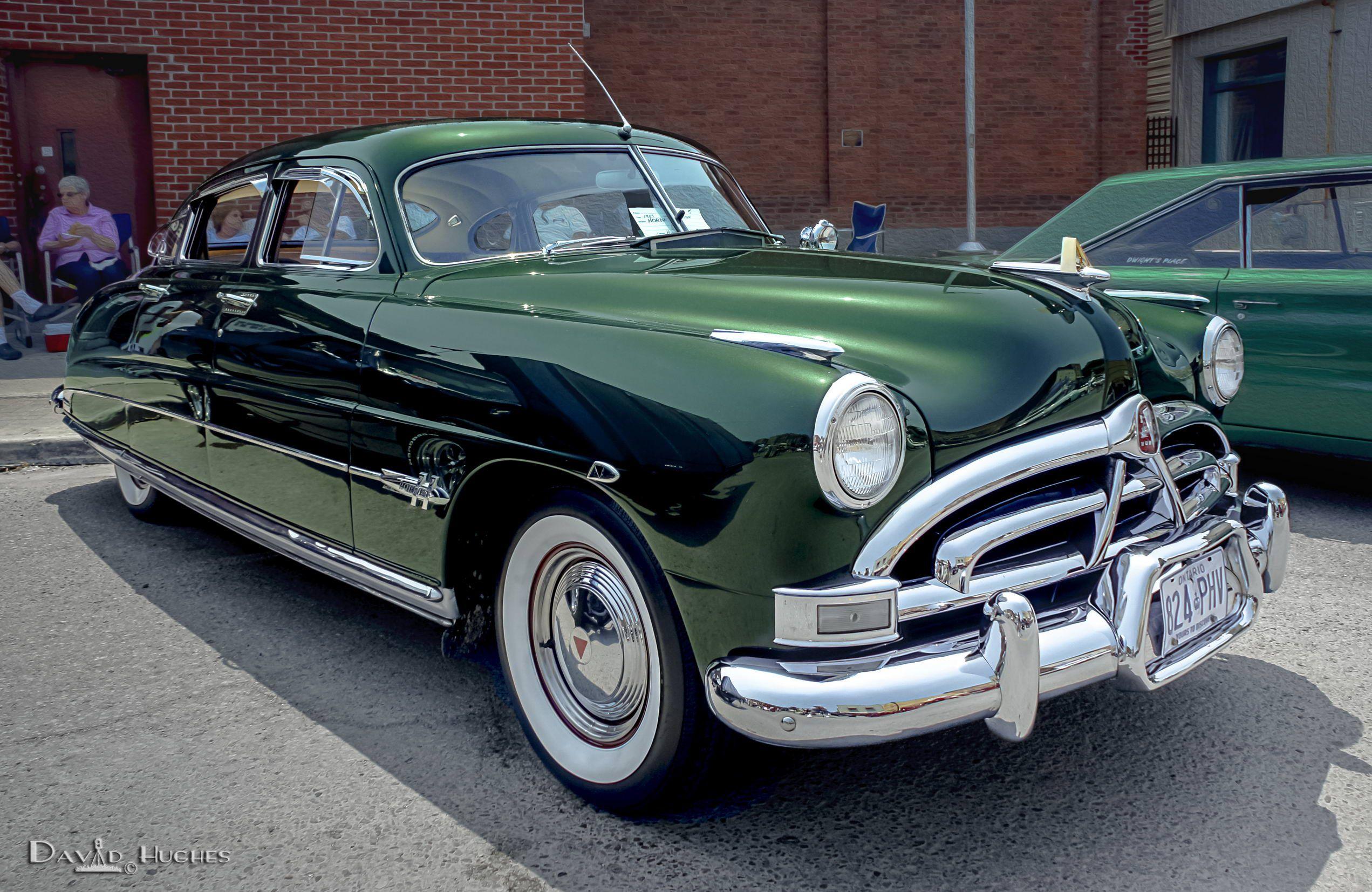 1951 Hudson Hornet Emerald Green 2011 Millbrook Car Show