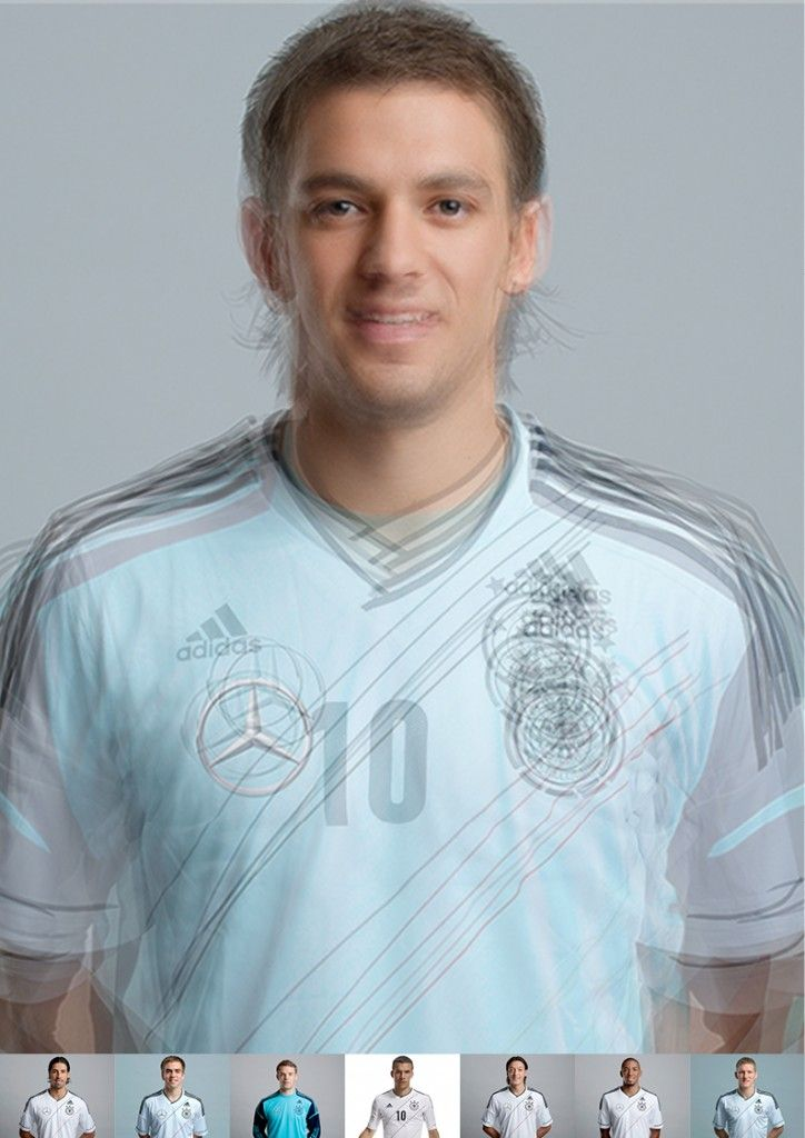 The German Standard Footballplayer