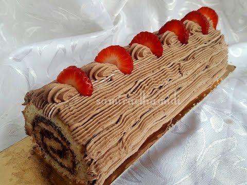كيك رولي بالمربى و الشكلاطة الخالي من الجلوتين او الغلوتين Youtube Summer Desserts Desserts Cake