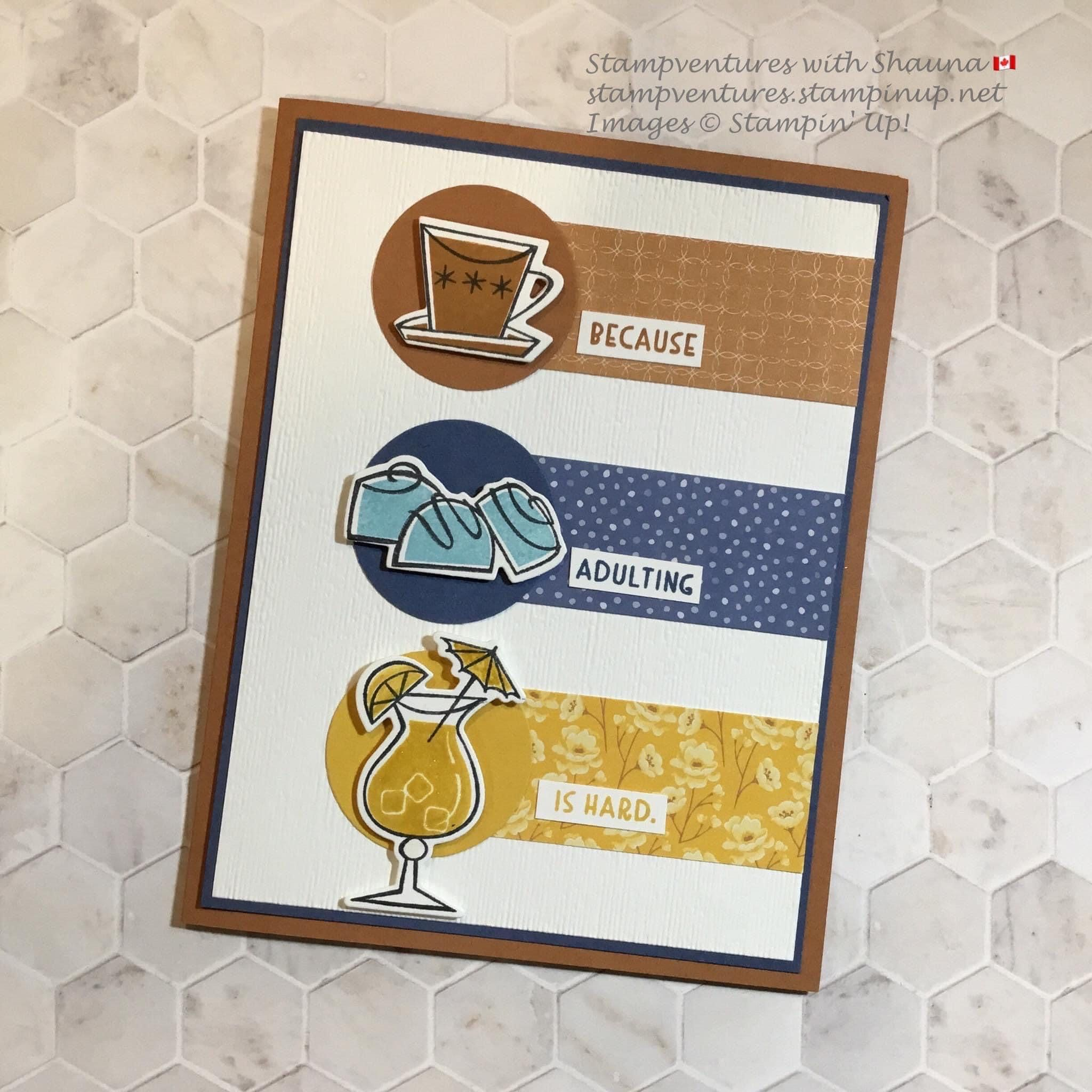 Stampin' Up! nothing better than in 2020 Designer paper