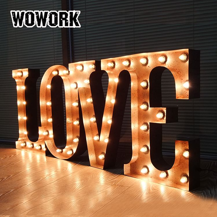 Wholesale Handmade Wedding Light Up Love Waterproof Outdoor Marquee Letter Lights Find Complete Detail Lighted Marquee Letters Light Letters Light Up Letters