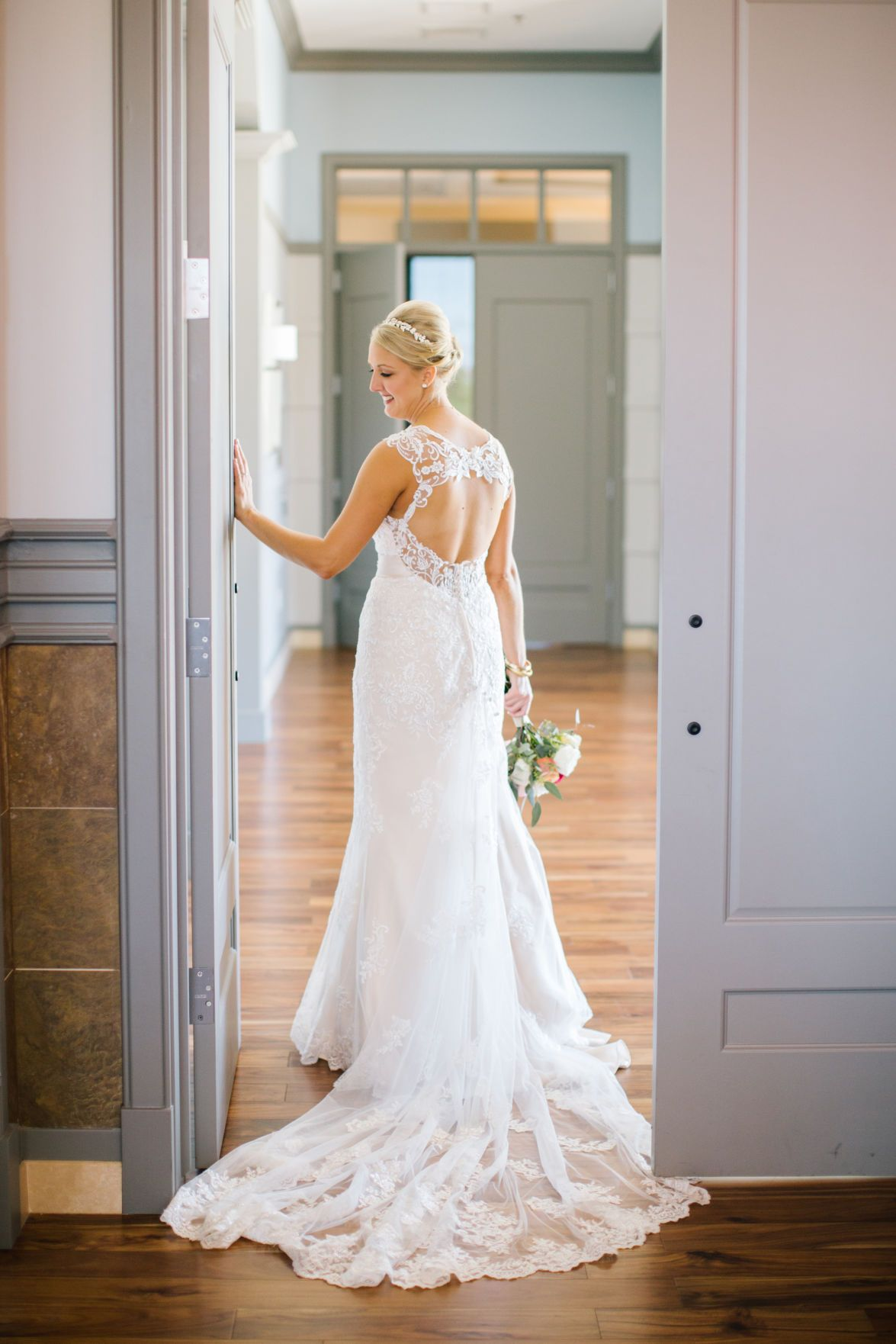 Wedding Essentials Omaha Nebraska Real Red Decor Bridal Details Nikki Moore Photography Gown Lace