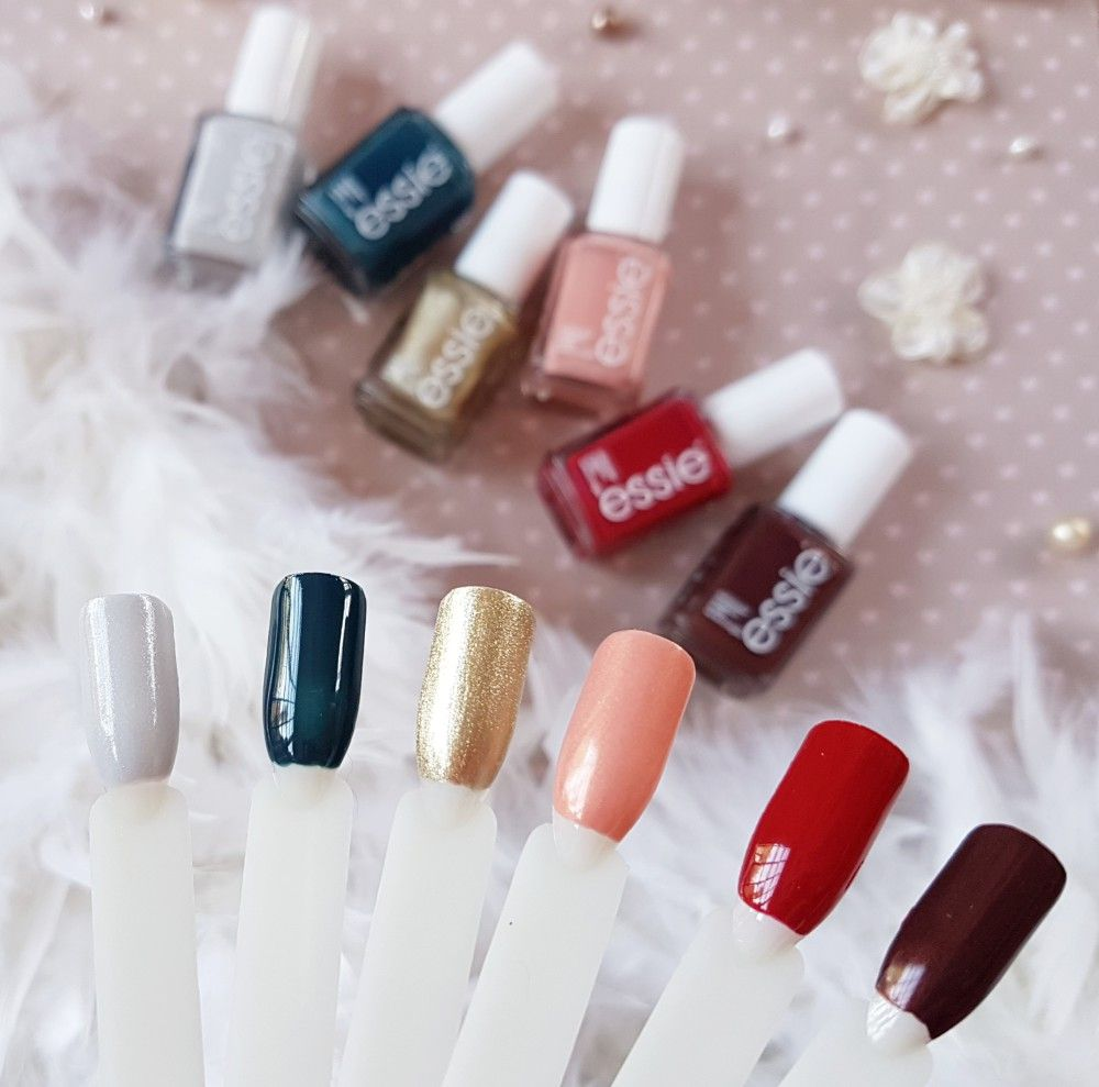 essie Winter 2017 Collection- Review and Swatches