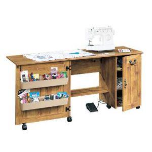 Mueble para maquina de coser sauder muebles pinterest for Muebles de costura