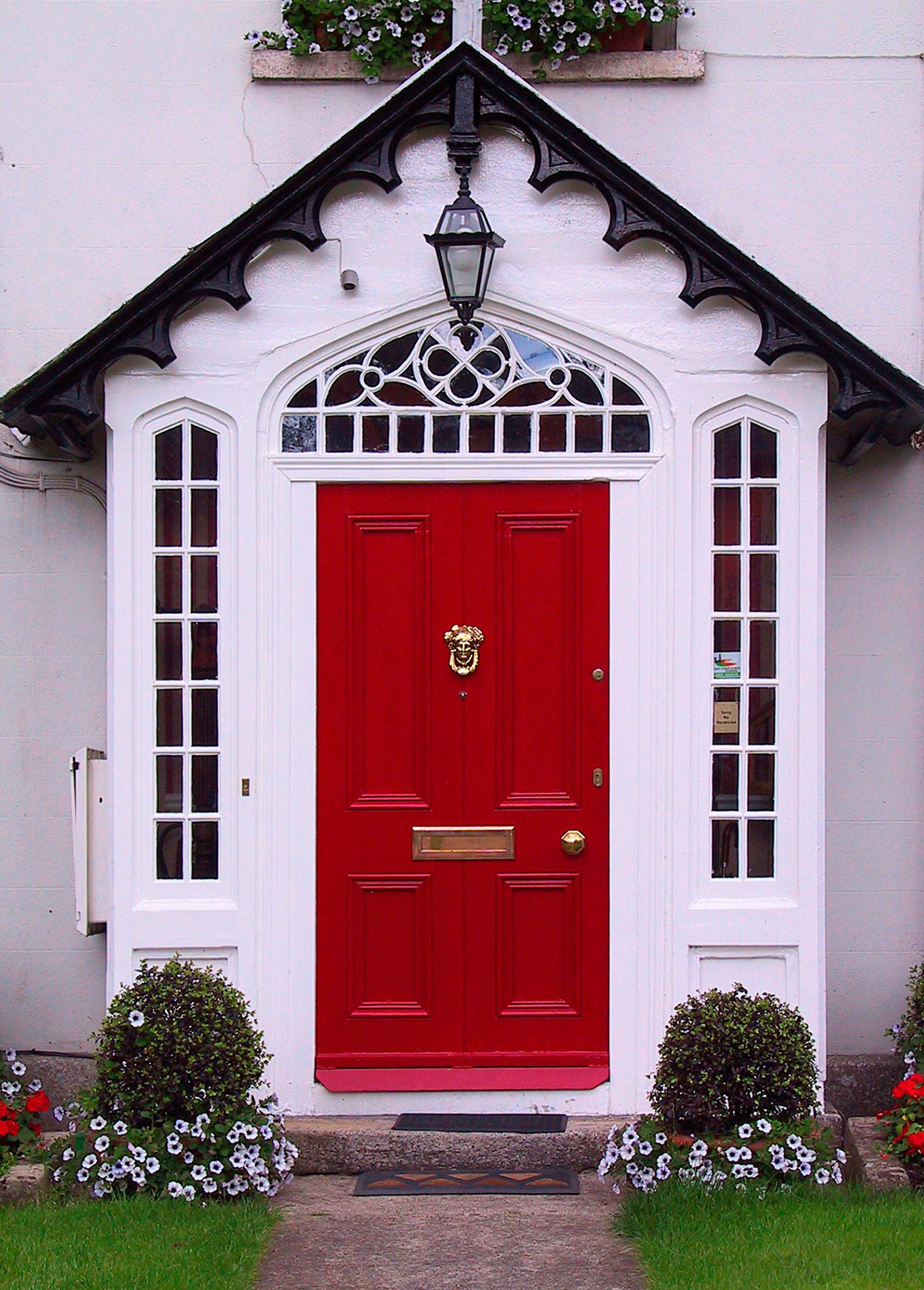What Is The Meaning Of A Red Door On A House Painted Front Doors Red Front Door Front Door Design