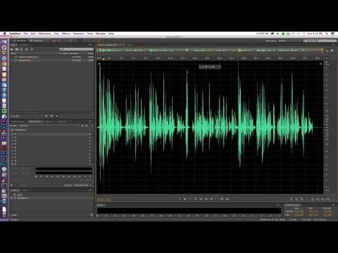 Quick Tip: Remove background noise in Adobe Audition from