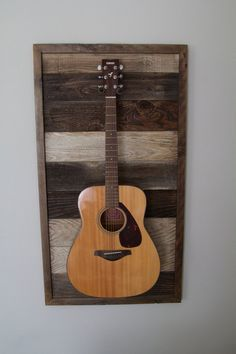 guitar frame wall mount made to order by thedigsca on etsy on guitar wall hangers id=82290