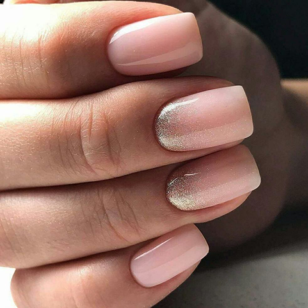 Нюдовый дизайн ногтей гель лаком фото