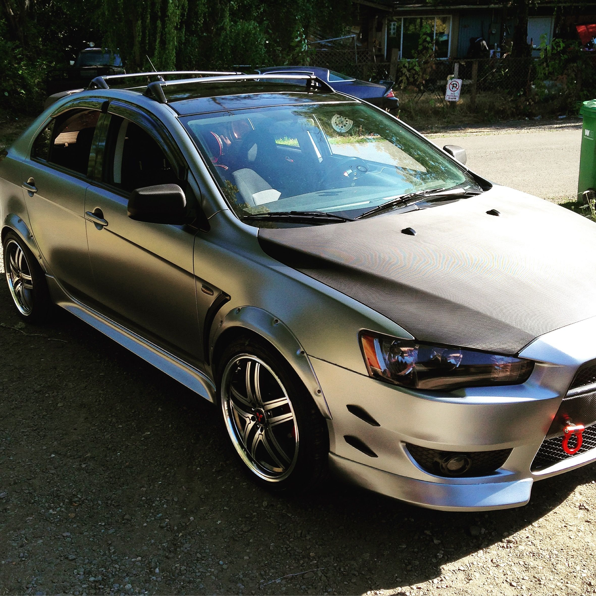 Jdm Mitsubishi Lancer Evolution 4k: 2010 Mitsubishi Lancer Sportback #jdm #stanced #lowered