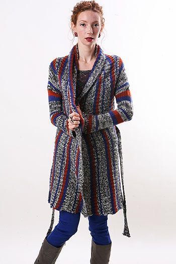 mix stitch coat  pinkice.com
