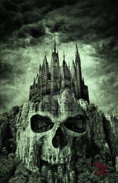 evil castle Blank Meme Template Castle tattoo, Dark