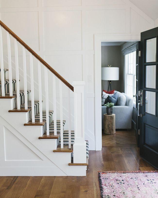 Studio Mcgee Transforms A Cape Cod Style Home Cape Cod Style   Cape Cod Staircase Designs   Raised Bungalow Deck   Layered   Interior   Veranda Step   Stair