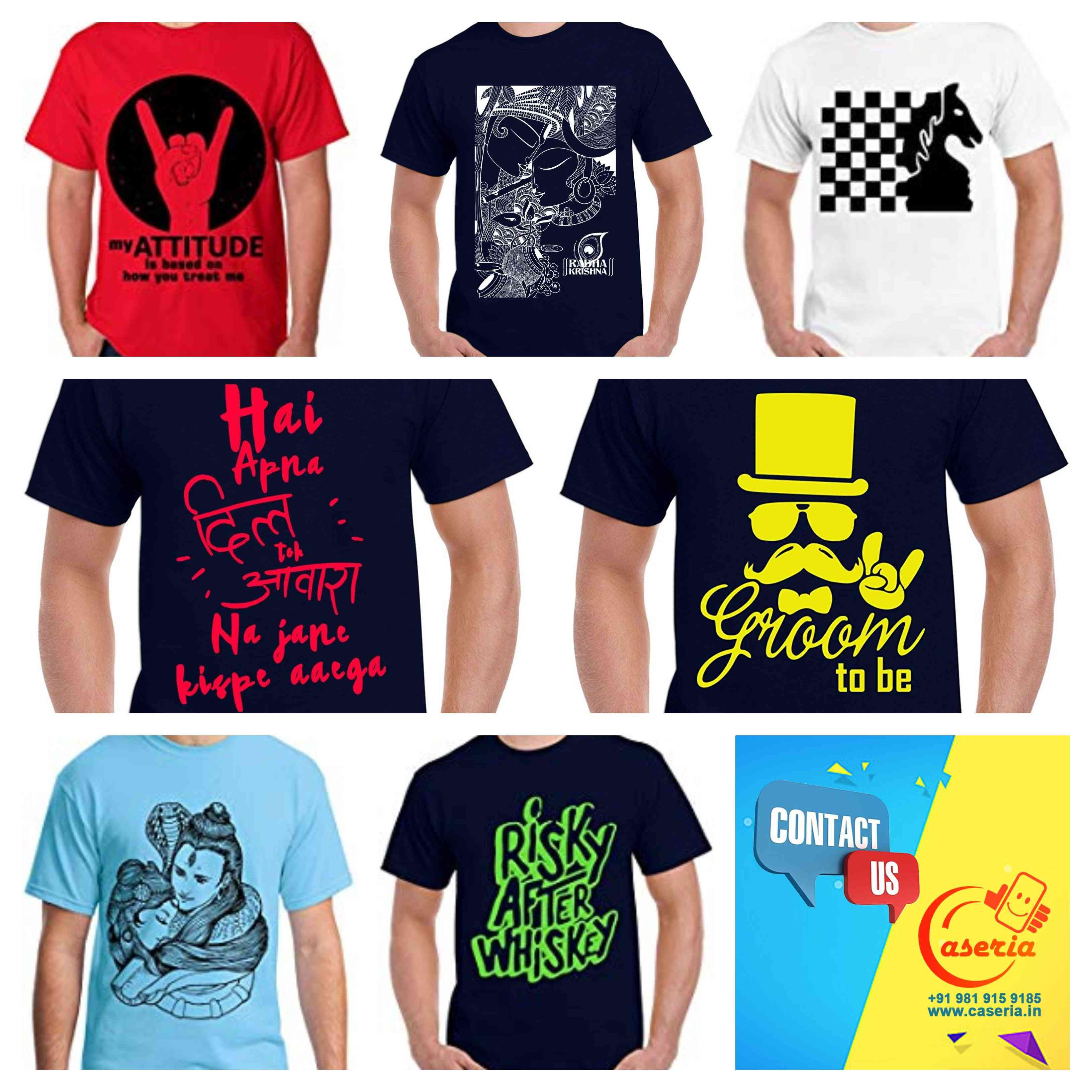 9f058606182 Bulk Order for Customized or printed T-Shirts in India? Contact- http: