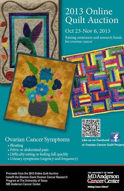 Ovarian cancer quilt project, Hpv vaccine johor bahru, Ovarian cancer quilt pattern