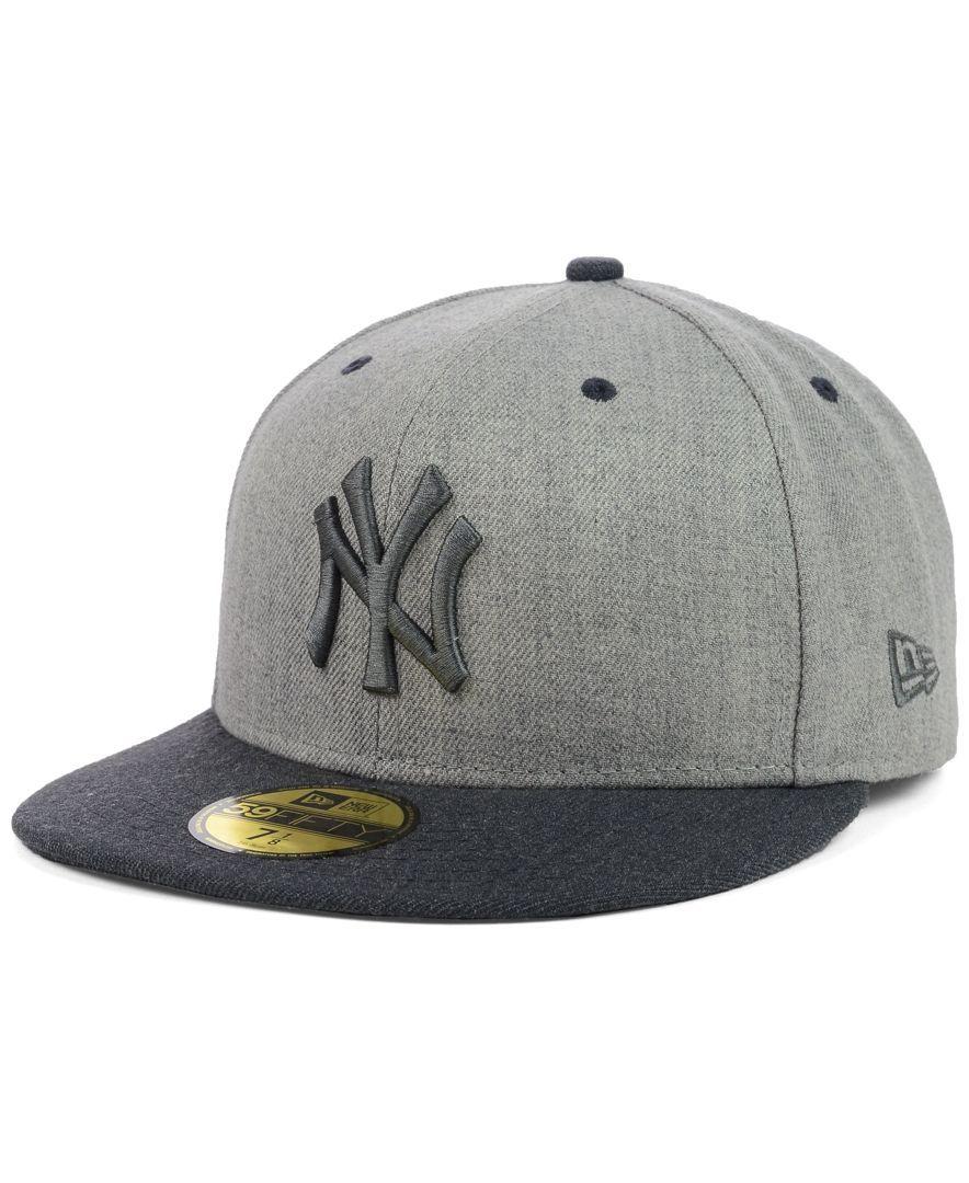 New Era New York Yankees Heather Mashup 59fifty Cap Sports Fan Shop By Lids Men Macy S