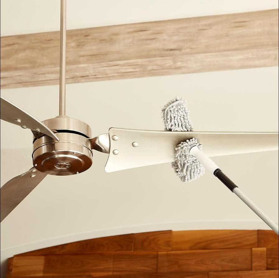 How To Clean Ceiling Fans Keeping Ceiling Fans Clean Is Easier Than Ever With Our Connect Clean Microfiber Cleaning Hacks Cleaning Ceiling Fans Ceiling Fan