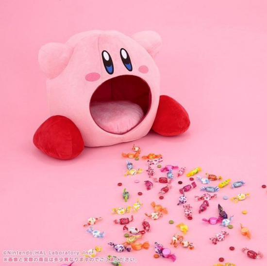 Premium Bandai Is Coming Out With A Special Hal Laboratory Kirby Giant Plush Pillow That Features Kirby With An Open Mou Plush Pillows Kawaii Games Giant Plush